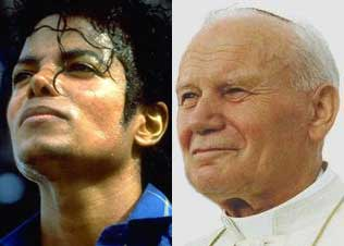 Michael Jackson and The Pope